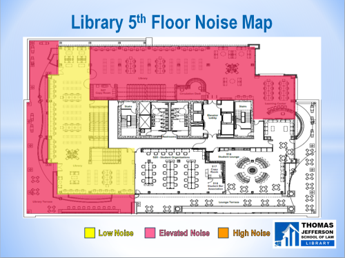 5th floor noise map